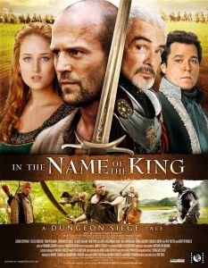 "Poster for ""In the Name of the King - A Dungeon Siege Tale""."
