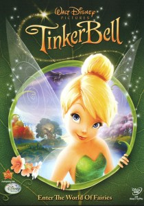 "Cover of the ""Tinker Bell"" DVD."