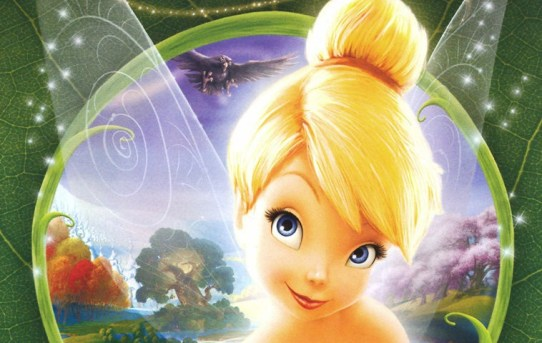 """Cover of the """"Tinker Bell"""" DVD."""