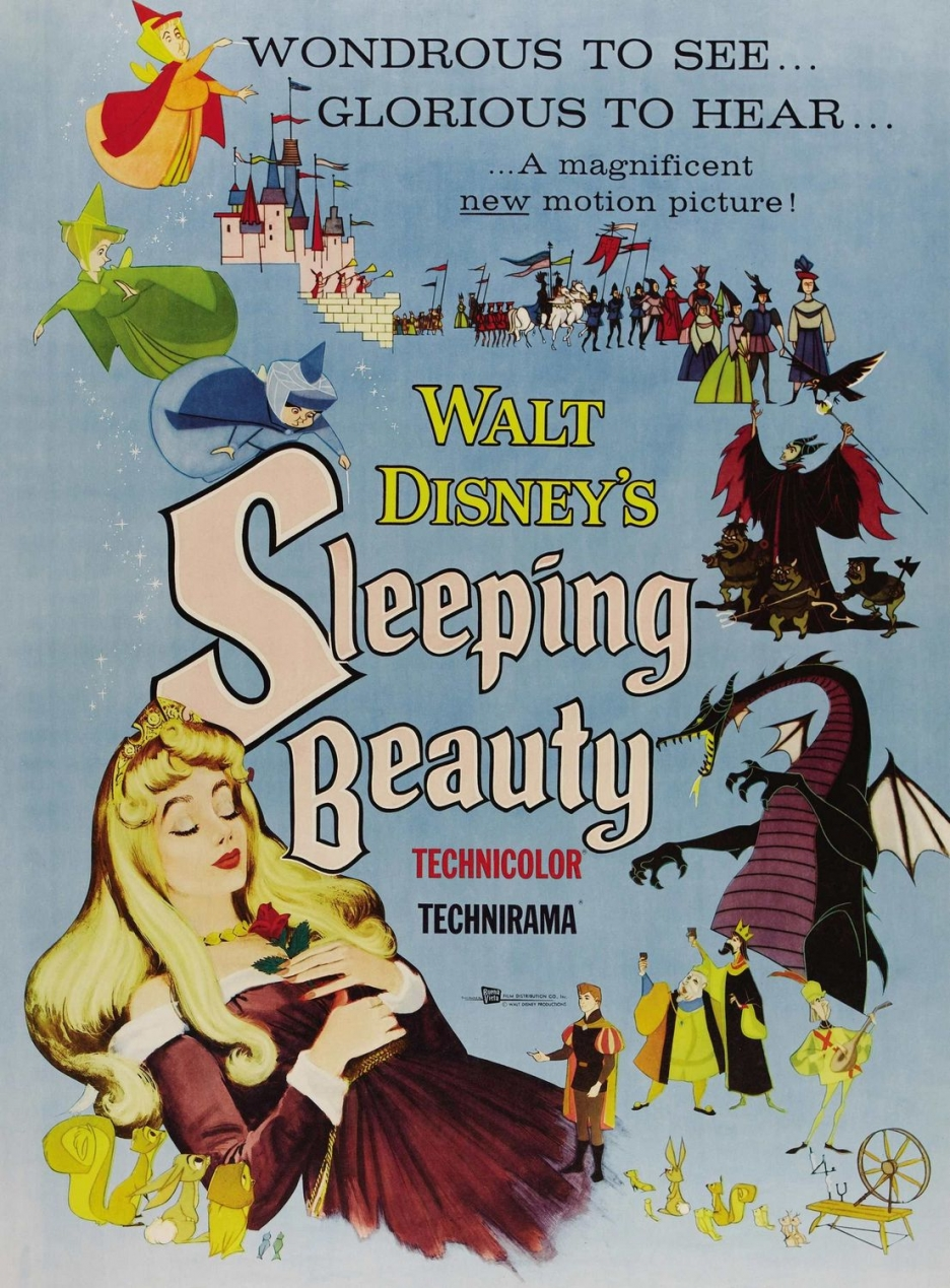 Original theatrical poster for Walt Disney's