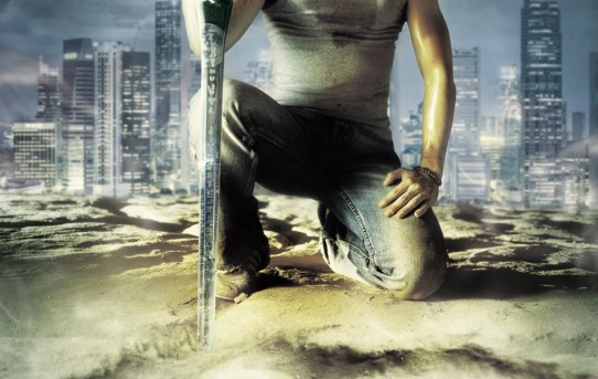 "Promotional poster for ""Arahan""."