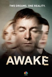 "Promotional poster for ""Awake"" on NBC."