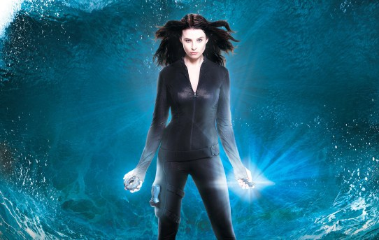 "Poster advertising the beginning of ""Continuum"", season two."