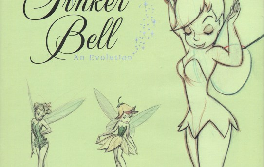 """Cover of """"Tinker Bell - An Evolution"""" by Mindy Johnson."""