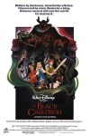 "Theatrical teaser poster for ""The Black Cauldron""."