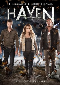 "Cover of season four collection for ""Haven""."