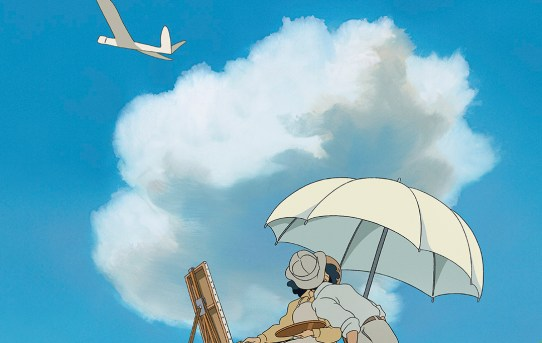 "English theatrical poster for ""The Wind Rises""."