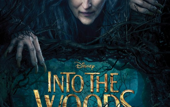 "Theatrical poster for ""Into the Woods"" (2014 film)."