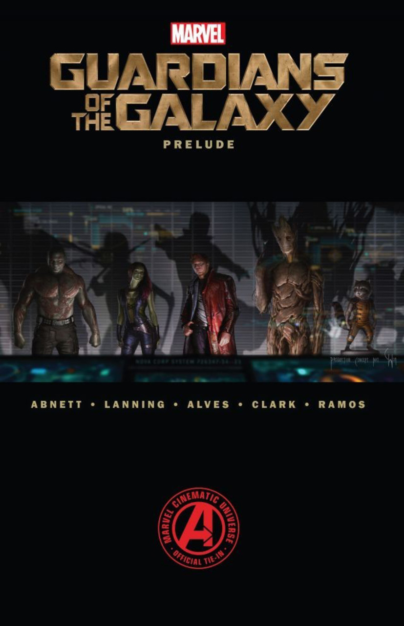 """""""Marvel's Guardians of the Galaxy Prelude"""" cover."""