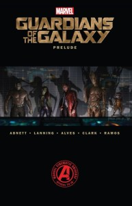 Guardians of the Galaxy Prelude - graphic novel review - MySF Reviews