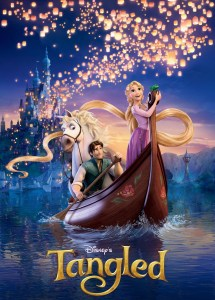 """Poster image from Disney's """"Tangled""""."""