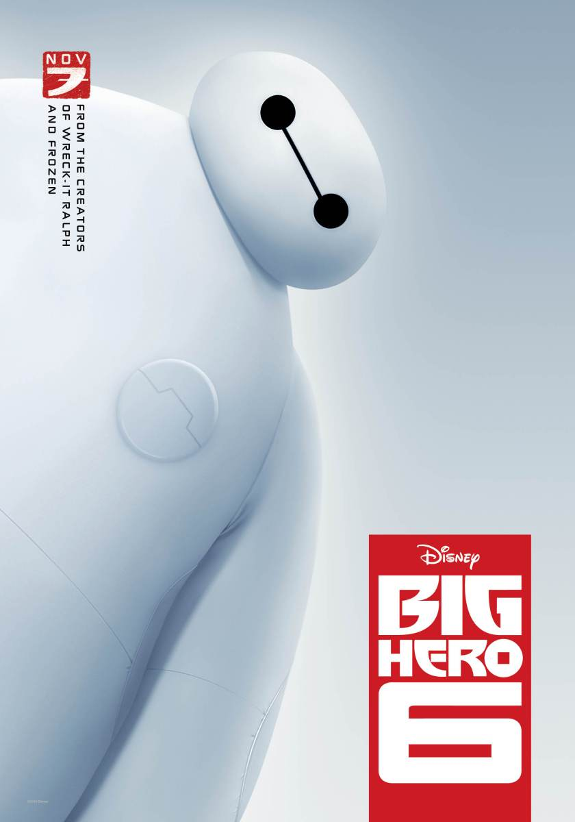 Big Hero 6 - animated film review