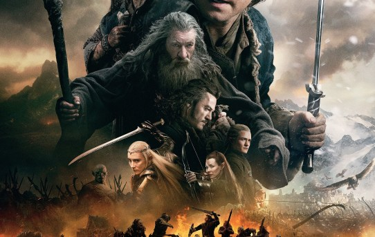 """The Hobbit - The Battle of the Five Armies"" theatrical teaser poster."