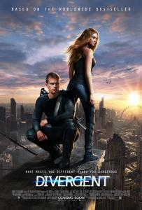 """Divergent"" UK theatrical teaser poster."