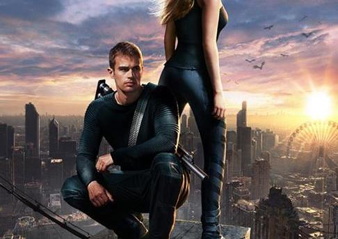 """Divergent"" UK theatrical teaser poster."