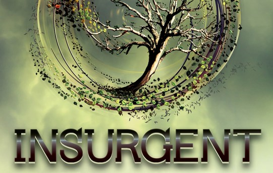 """Insurgent"" by Veronica Roth."