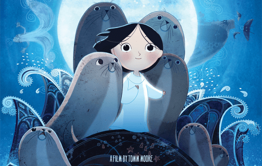 """Song of the Sea"" theatrical poster."