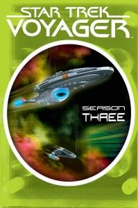 """""""Star Trek Voyager"""" - season 3 DVD set."""