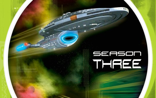 """Star Trek Voyager"" - season 3 DVD set."