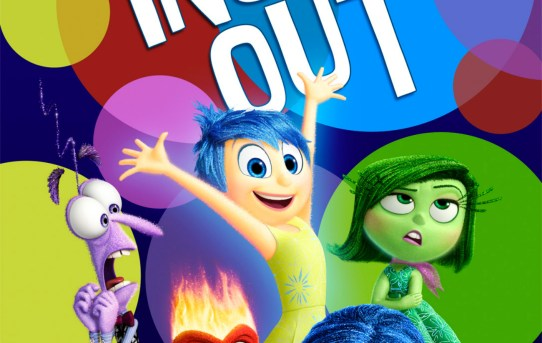 "Theatrical teaser poster for ""Inside Out"", from Pixar."