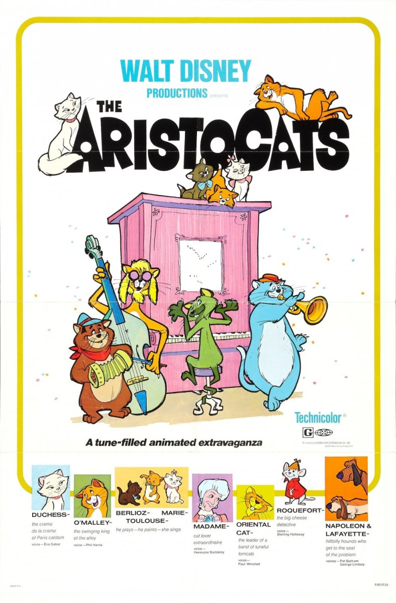 The Aristocats - animated film review