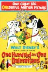 """One Hundred and One Dalmatians"" theatrical teaser poster."