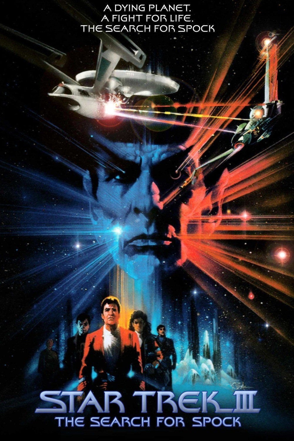 """Star Trek III The Search for Spock"" theatrical poster."