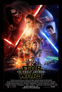 """""""Star Wars - The Force Awakens"""" theatrical teaser poster."""
