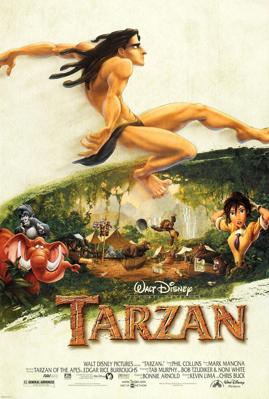 """Tarzan"" Disney theatrical teaser poster."
