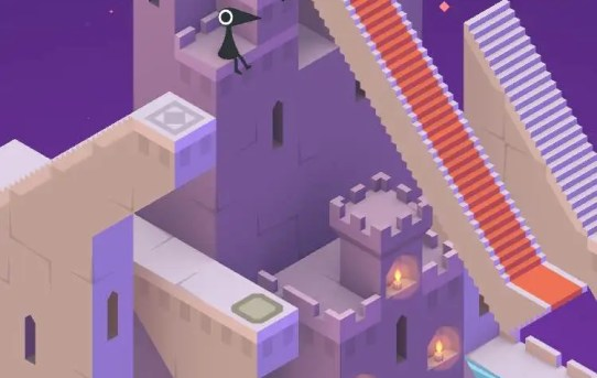 "Screenshot from ""Monument Valley""."