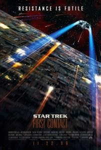 """Star Trek First Contact"" theatrical teaser poster."