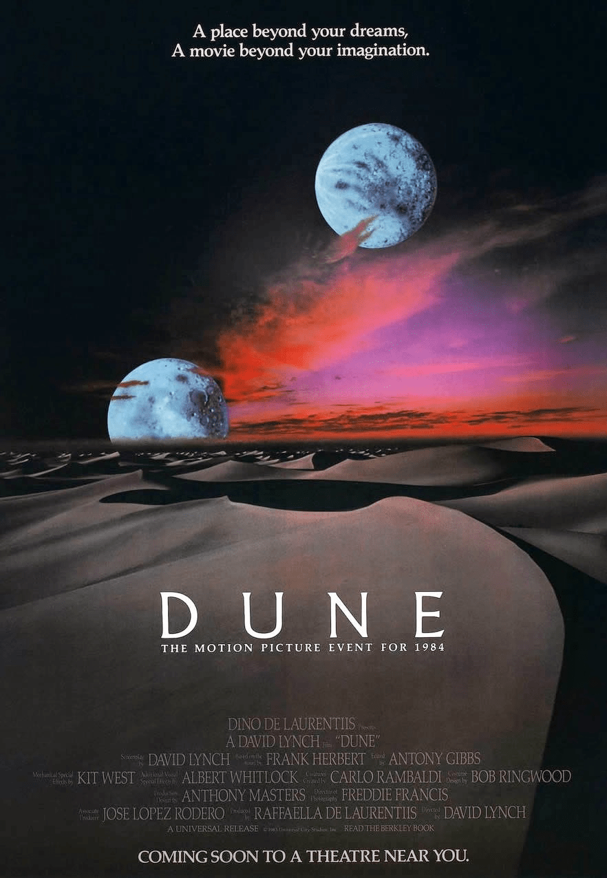 """""""Dune"""" theatrical teaser poster."""