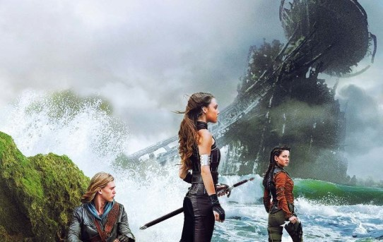"""The Shannara Chronicles"" television series poster."