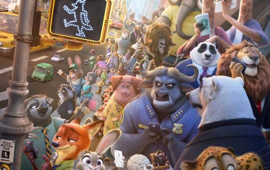 """Zootopia"" theatrical teaser poster."