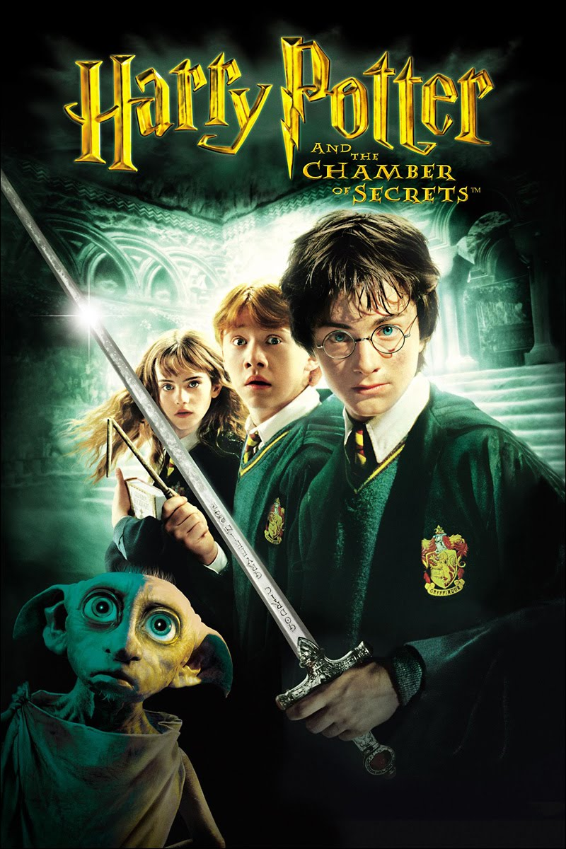 """Harry Potter and the Chamber of Secrets"" theatrical teaser poster."
