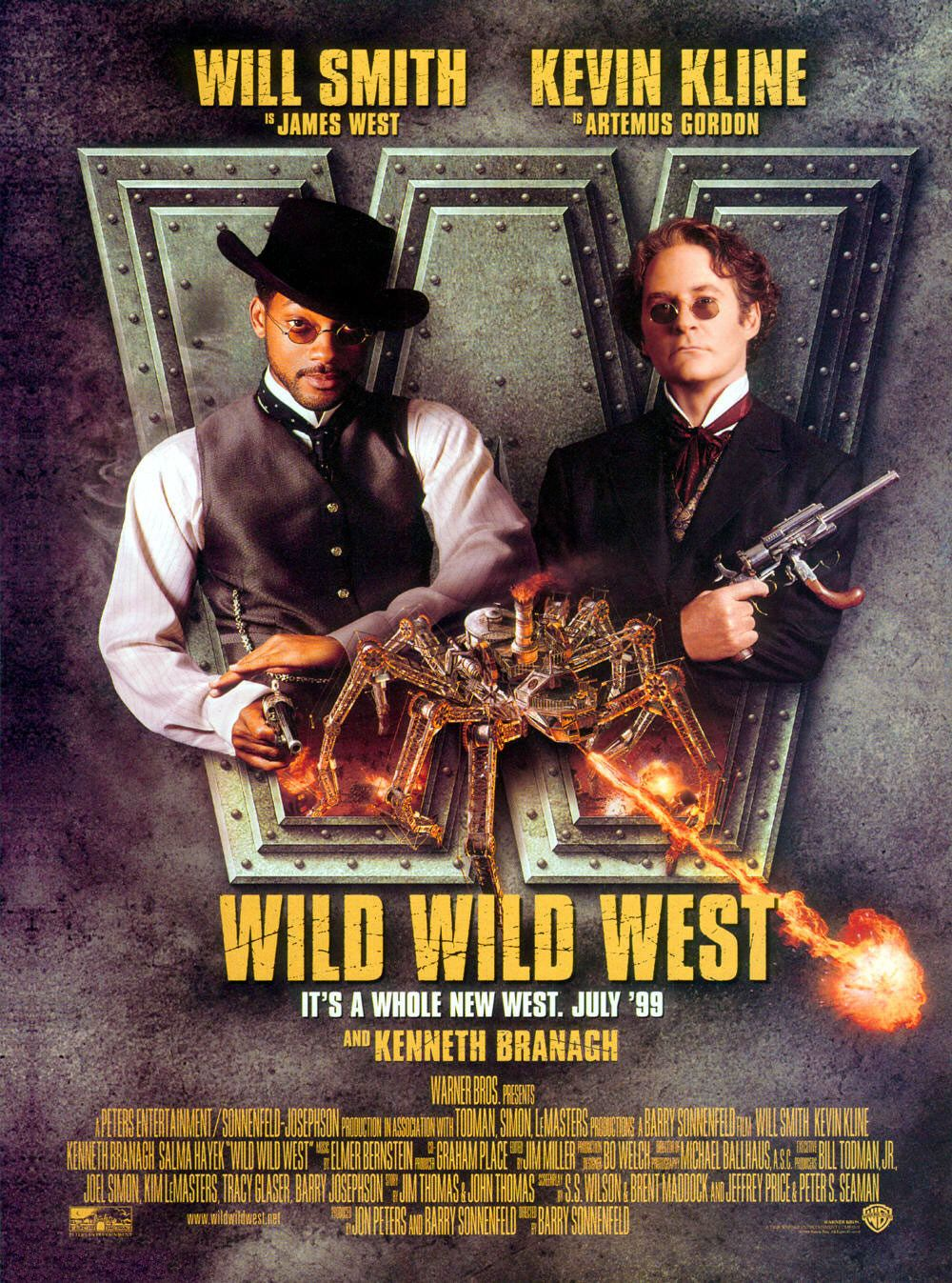 """Wild Wild West"" theatrical teaser poster."