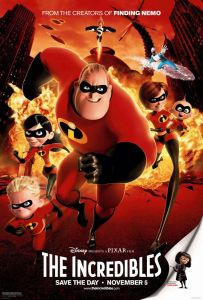 """The Incredibles"" theatrical teaser poster."