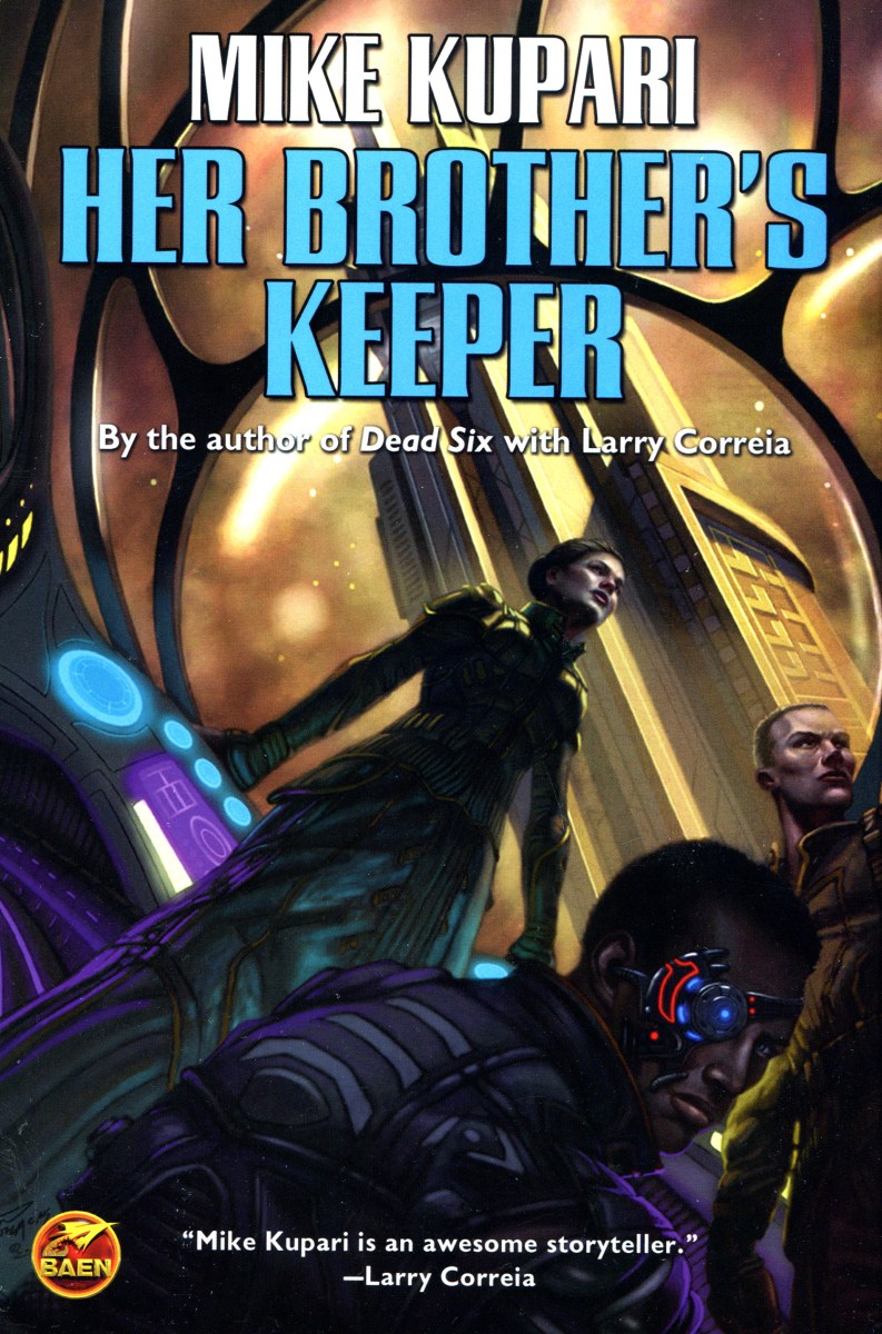 Her Brother's Keeper by Mike Kupari - book review