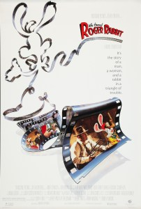 """Who Framed Roger Rabbit"" theatrical poster."