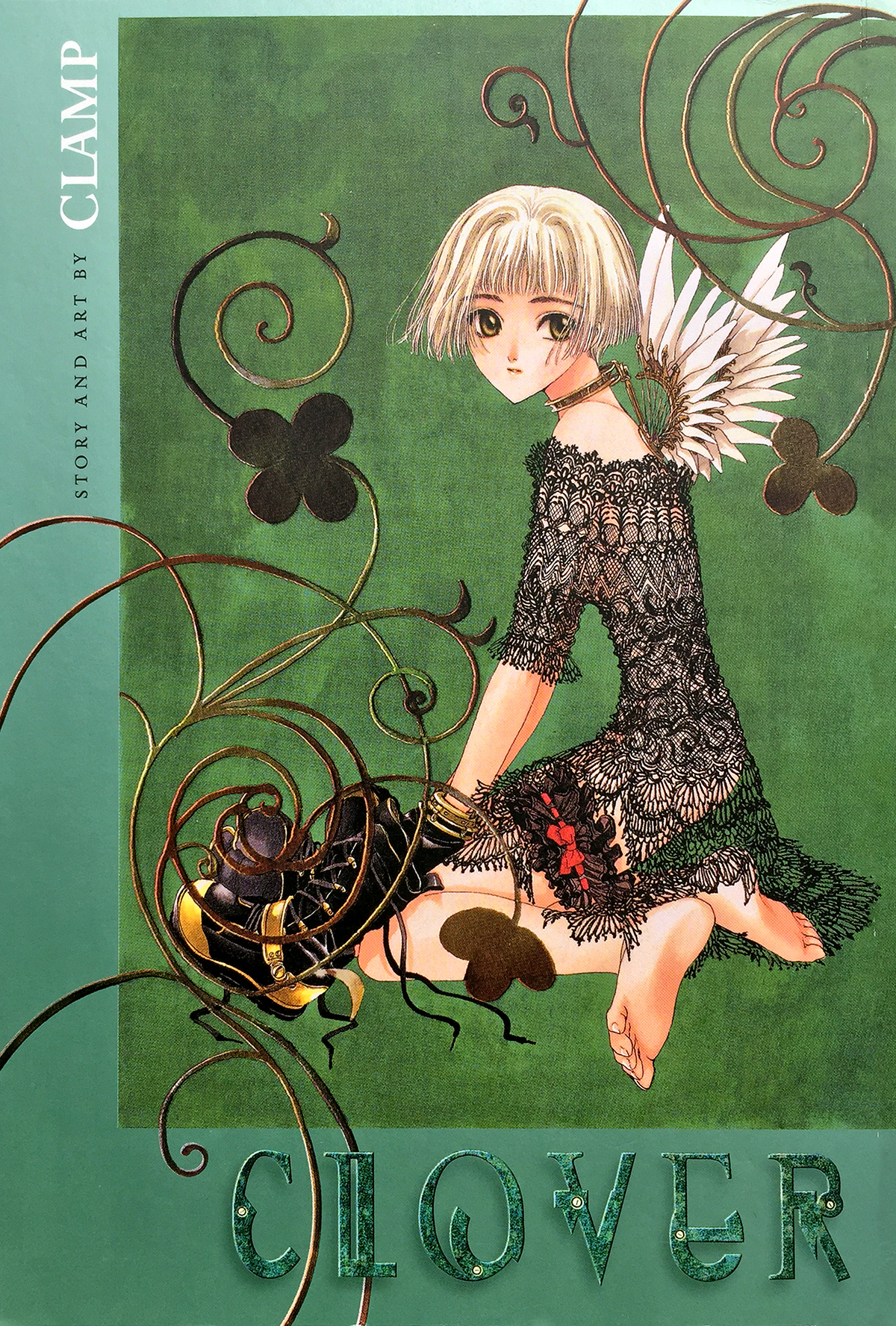 """Clover"" omnibus by Clamp, from Dark Horse Manga."