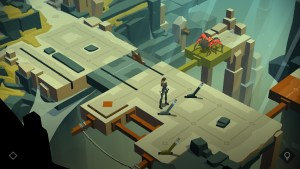 """Lara Croft Go"" screenshot 2."