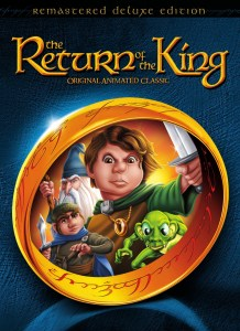 """""""The Return of the King"""" DVD cover."""