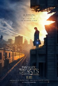 """Fantastic Beasts and Where to Find Them"" theatrical teaser poster."