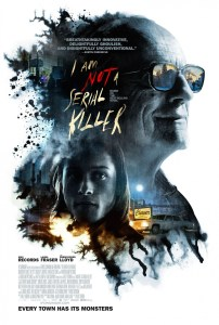 """I Am Not a Serial Killer"" poster."