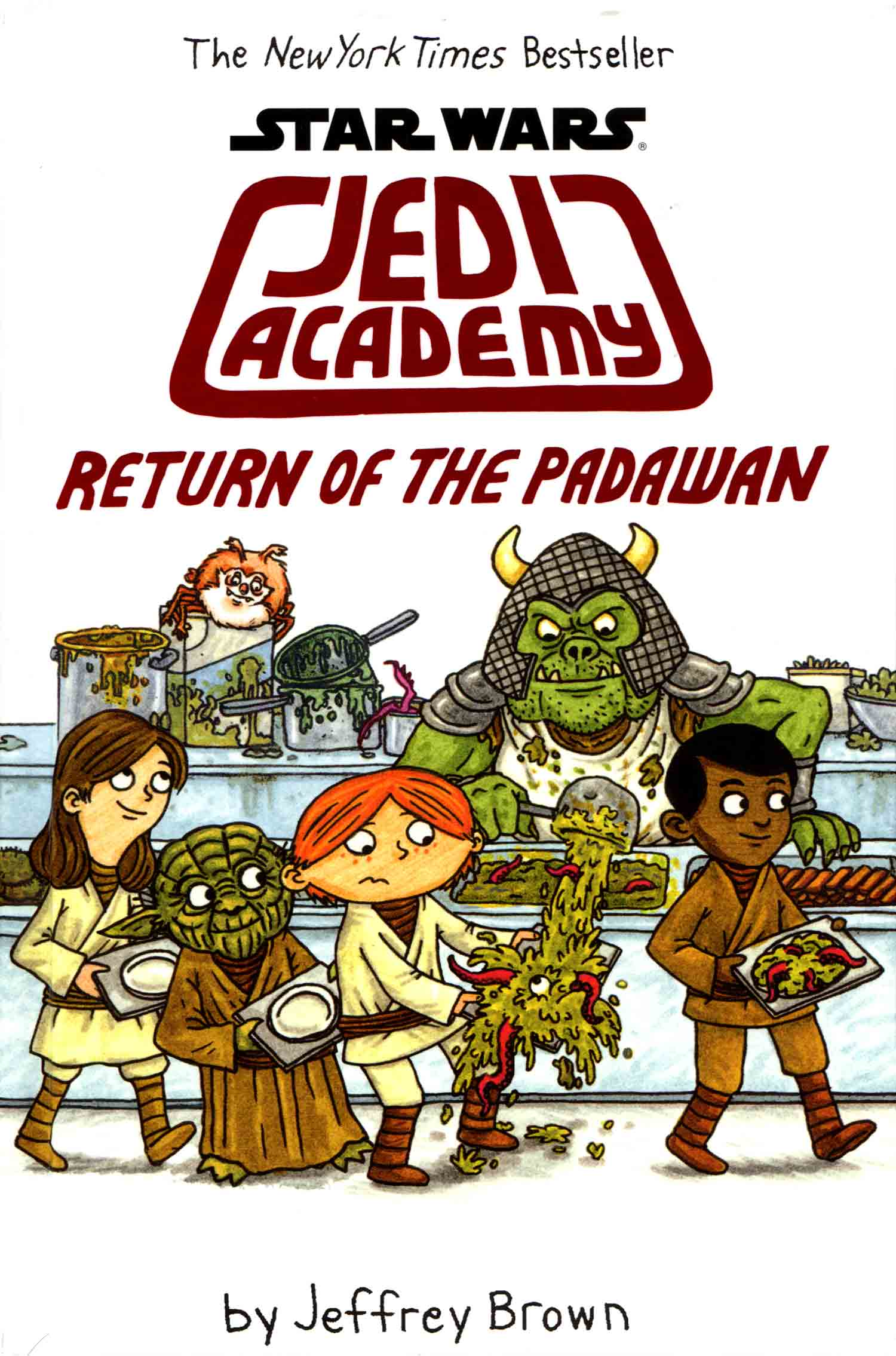 """Star Wars Jedi Academy - Return of the Padawan"" by Jeffrey Brown."