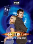 """Doctor Who Series 2"" DVD cover."
