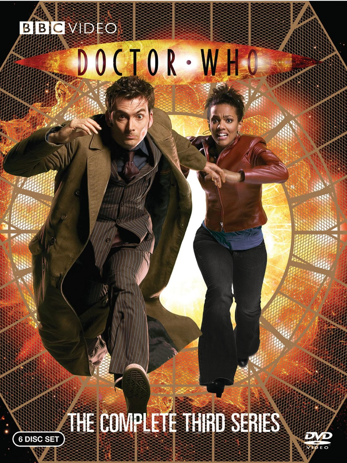 """Doctor Who Series 3"" DVD cover."