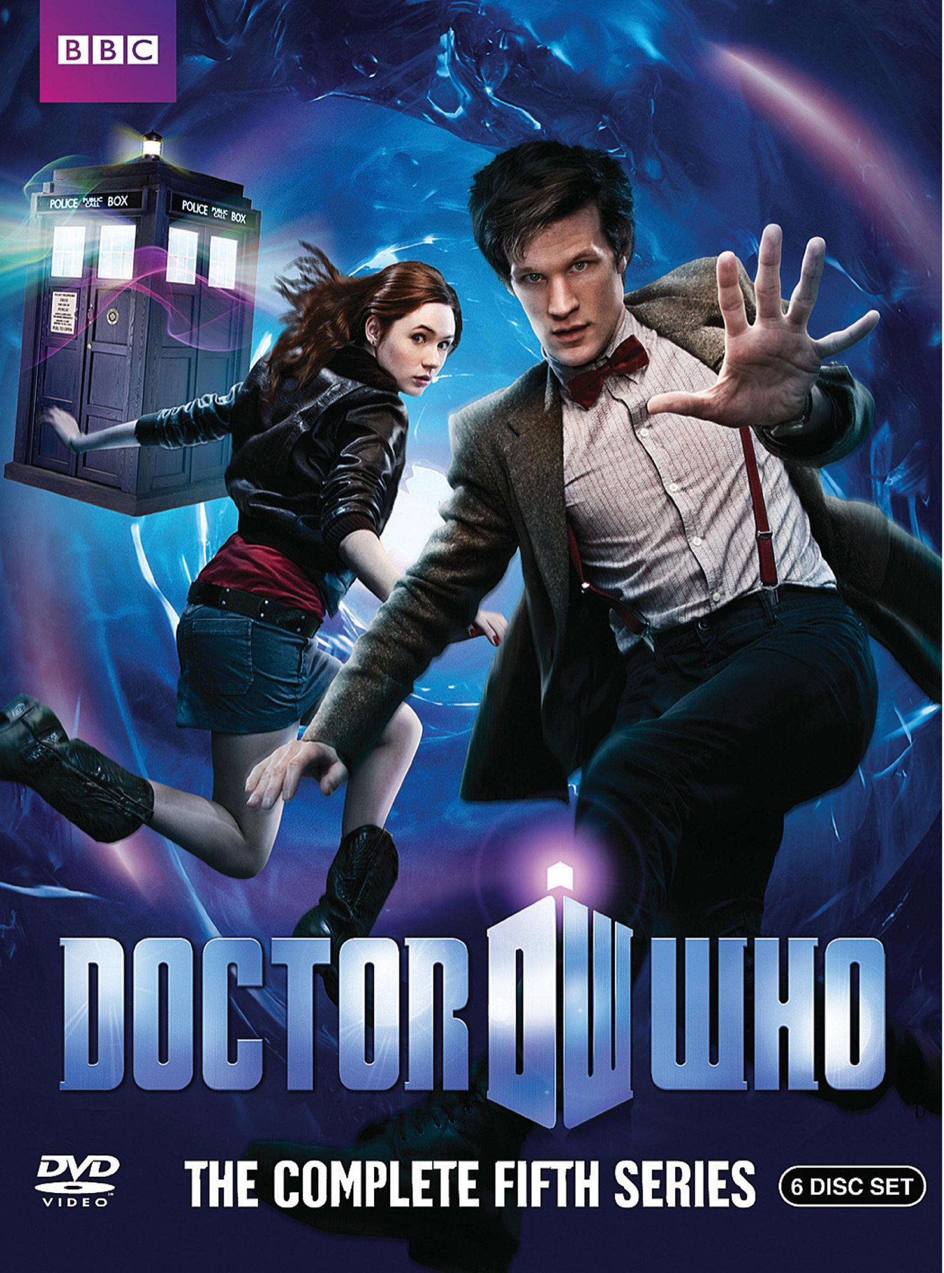 """Doctor Who Series 5"" DVD cover."
