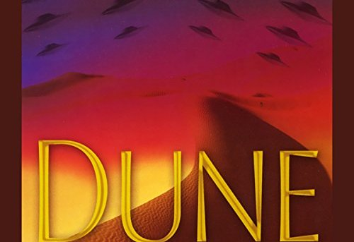 """Dune"" by Frank Herbert - audiobook cover."