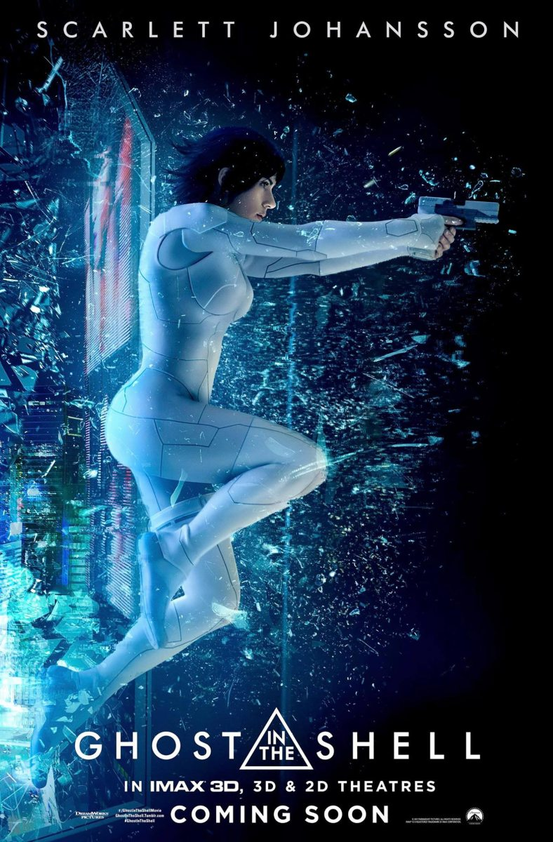 Ghost in the Shell - film review